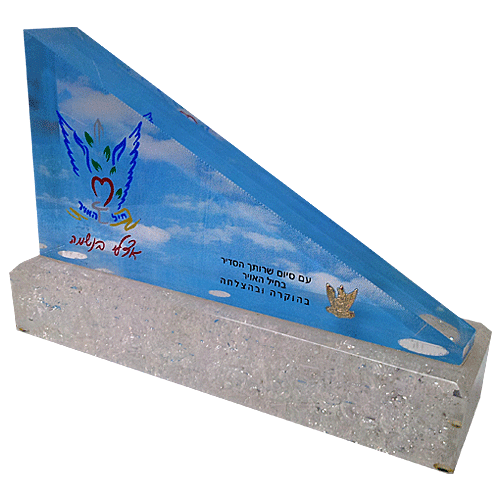 IDF_Airforce_Award_Perspex_with_base_and_color_printing_metal_sign.png