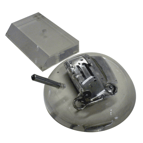 Telrad_Metal_telephone_Model_and_elctronic_parts_in_half_sphere_lucite_perspex__on_turning_base_2.png